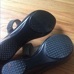Athena Alexander Shoes - Athena Alexander Silver Rhinestone thong sandal 10